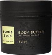 Scrub & Rub - Bliss - Body Butter - 200 ml