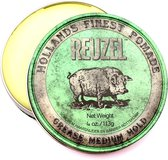 Reuzel Green Grease Medium Hold Haarwax - 113 gram