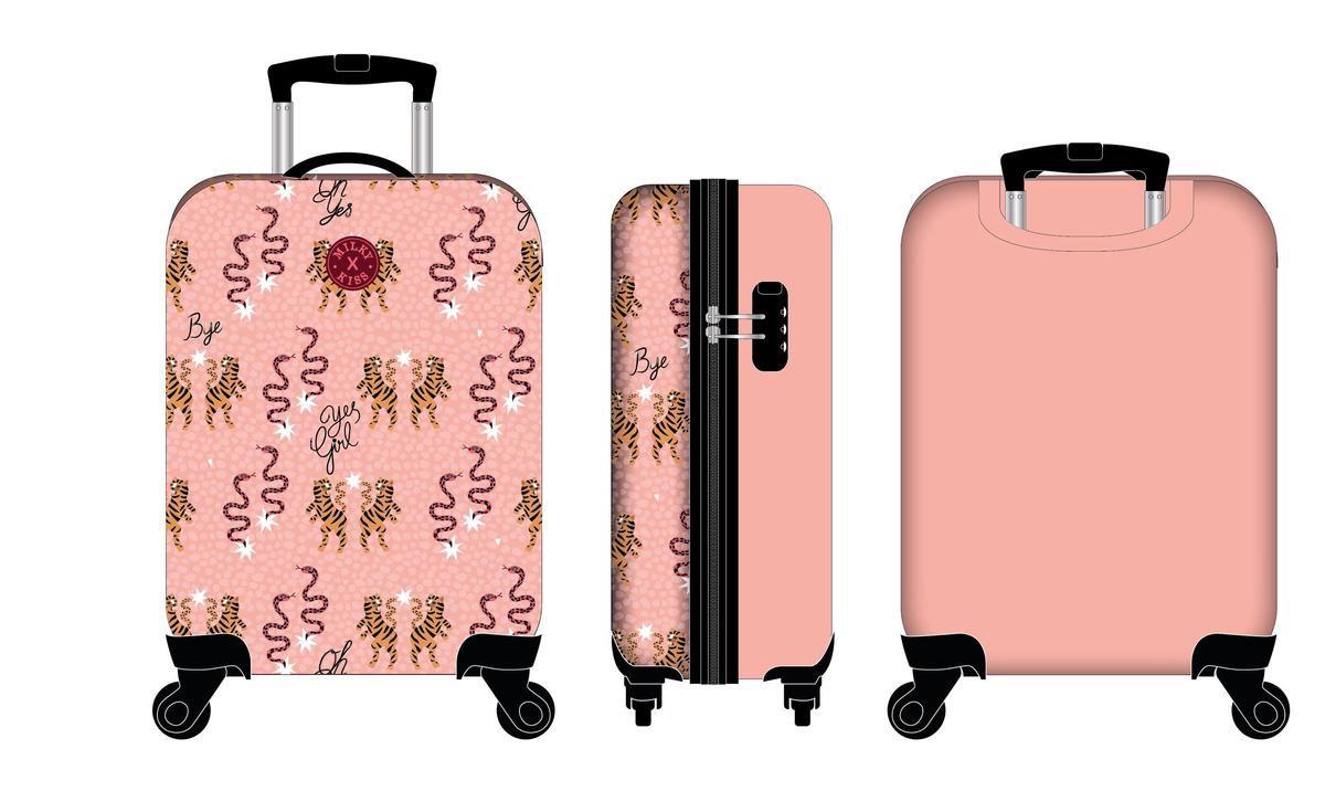 Milky Kiss Trolley suitcases Milky Kiss En Route Reiskoffer - 40,4 l - Peach
