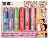 Create It! Lipgloss Scented 1,2 Gram 7-delig