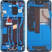 Originele middenkaderring voor Huawei Honor V30 (blauw)
