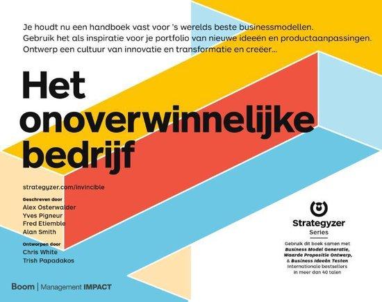 Boek cover Het onoverwinnelijke bedrijf van Alexander Osterwalder (Hardcover)