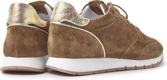 Ruby Megan   Bruine Sneakers cjmkot