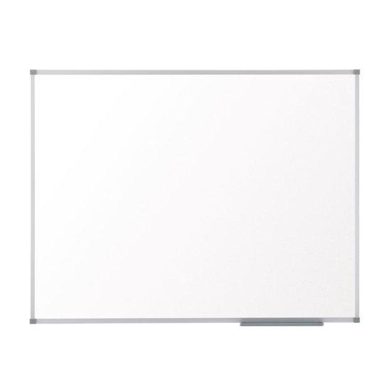 Afbeelding van Nobo Basic Magnetisch Whiteboard - Magneetbord Met Aluminium Lijst  - 90x60cm - Inclusief Pennengoot - Wit - Ideaal Voor Kantoor Of Thuiskantoor