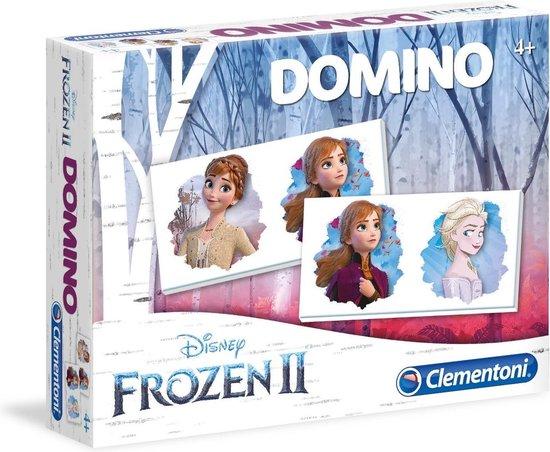 Spel Domino Pocket Frozen 2 Clementoni