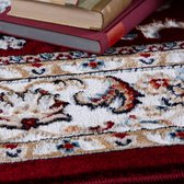 Rood Tapijt Laagpolig Klassiek Vloerkleed - Omid Heritage 2 - 120x170cm