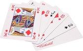 Speelkaarten - XL- 28 x 20 cm - 54 Kaarten