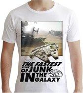 STAR WARS - T-Shirt Falcon Graphic (XXL)