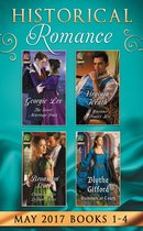 Historical Romance May 2017 Books 1 - 4: The Secret Marriage Pact / A Warriner to Protect Her / Claiming His Defiant Miss / Rumors at Court