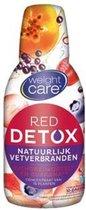 Weight Care Red Detox Fatburner - 500 ml - natuurlijk vet verbranden