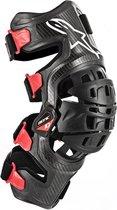 Alpinestars Bionic-10 Black Red Carbon Right Knee Brace  XL-XXL