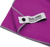 Travelsafe Traveltowel - Microfibre - 60x120cm - S - Paars