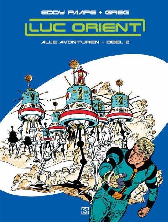 LUC ORIENT 2 - De planeet van de angst - Eddy Paape  