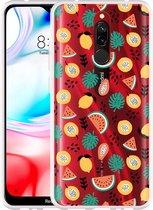 Xiaomi Redmi 8 Hoesje Tropical Fruit