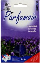 Scanpart Parfumair Stofzuigerverfrisser - Geurkorrels - Lavendel - 4 x 6g