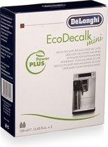 De'Longhi EcoDecalk Mini  - Koffiemachineontkalker - 2 x 100 ml