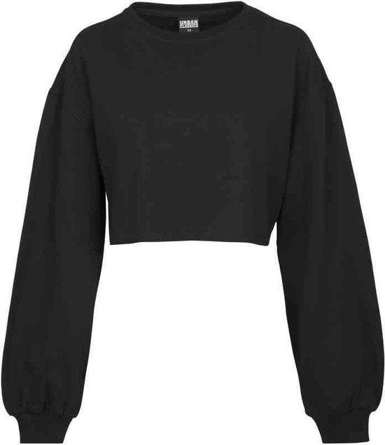 Urban Classics Urban Classics Sweatertrui Short Velvet Crew