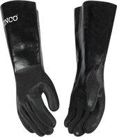 Kinco - Lange chemisch bestendige handschoenen - L - 7188 - zwart - Extra flexibel en comfortabel, ideaal voor chemie - monteurs - labratorium - scholen - industiële handschoen