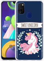Samsung Galaxy M21 Hoesje Sweet Unicorn