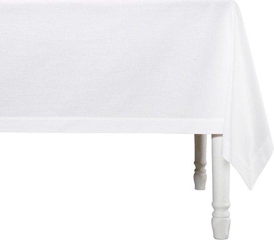 De Witte Lietaer Tafellaken Sonora 160x50 Cm Katoen Wit
