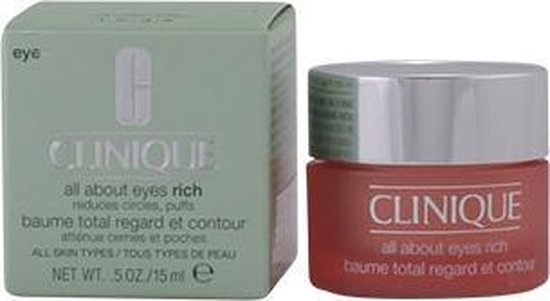 Clinique All About Eyes Rich Oogcrème - 15 ml -