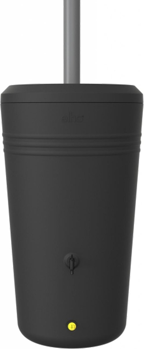 Elho Green Basics Regenton - Regenton - Living Black - Buiten  - 200 Liter
