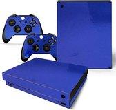 Dark Blue Glossy - Xbox One X skin