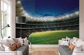 Fotobehang voetbal stadion - 368x254 cm (bxh) - 4 rollen behang