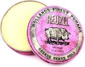 Reuzel Hf Pomade Grease Heavy Hold - Pink 340 gr