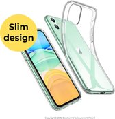 Hoesje iPhone 11 - Transparant Case - Pless®