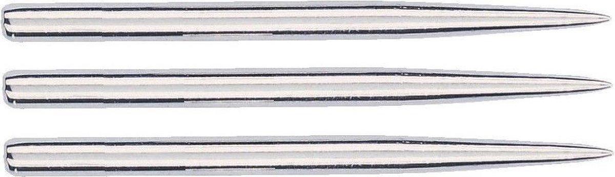 Bull's Steel Dart Grip Points Silver - 32mm