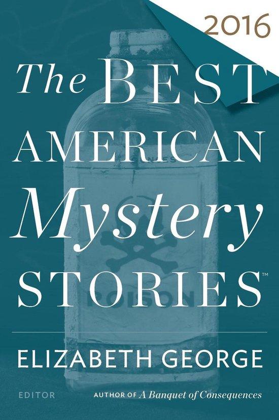 Omslag van The Best American Mystery Stories 2016