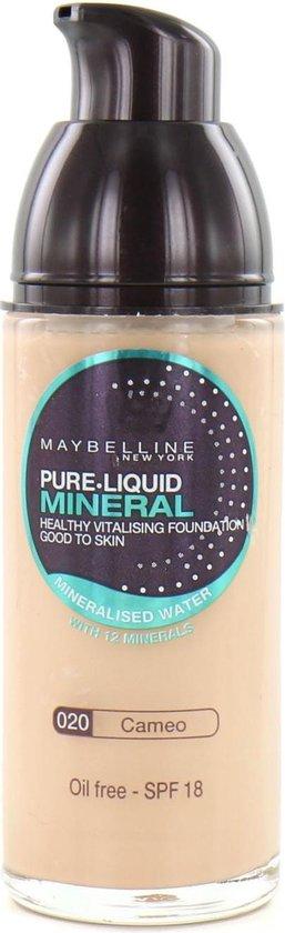 Maybelline Pure Liquid Mineral Foundation – 020 Cameo