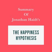Omslag Summary of Jonathan Haidt's The Happiness Hypothesis
