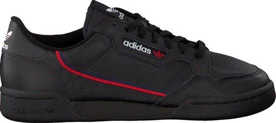 Adidas Heren Lage sneakers Continental 80 Men - Zwart - Maat 40⅔