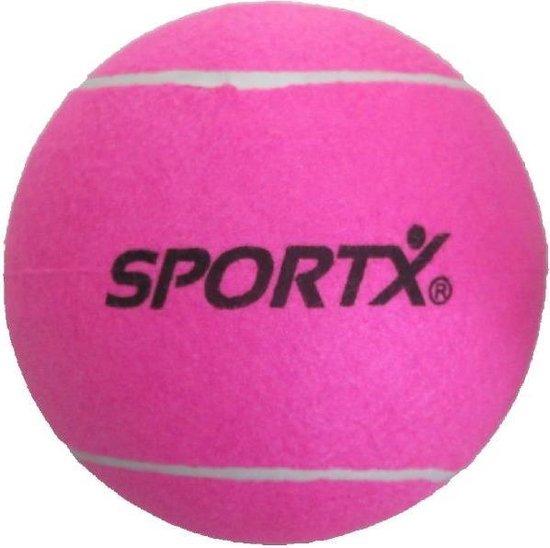 Afbeelding van het spel SportX Jumbo Tennisbal Xl Roze