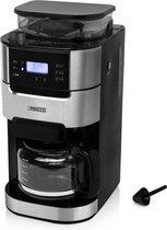 Princess 01.249411.01.001 Coffee maker Silver-black Cup volume=10 Plate warmer