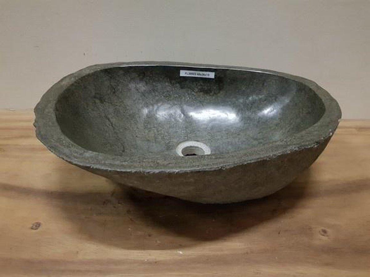Waskom natuursteen FL20522 - 48x36x15cm
