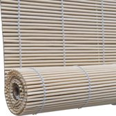 Rolgordijn Bamboe 150 x 220 cm (Naturel)