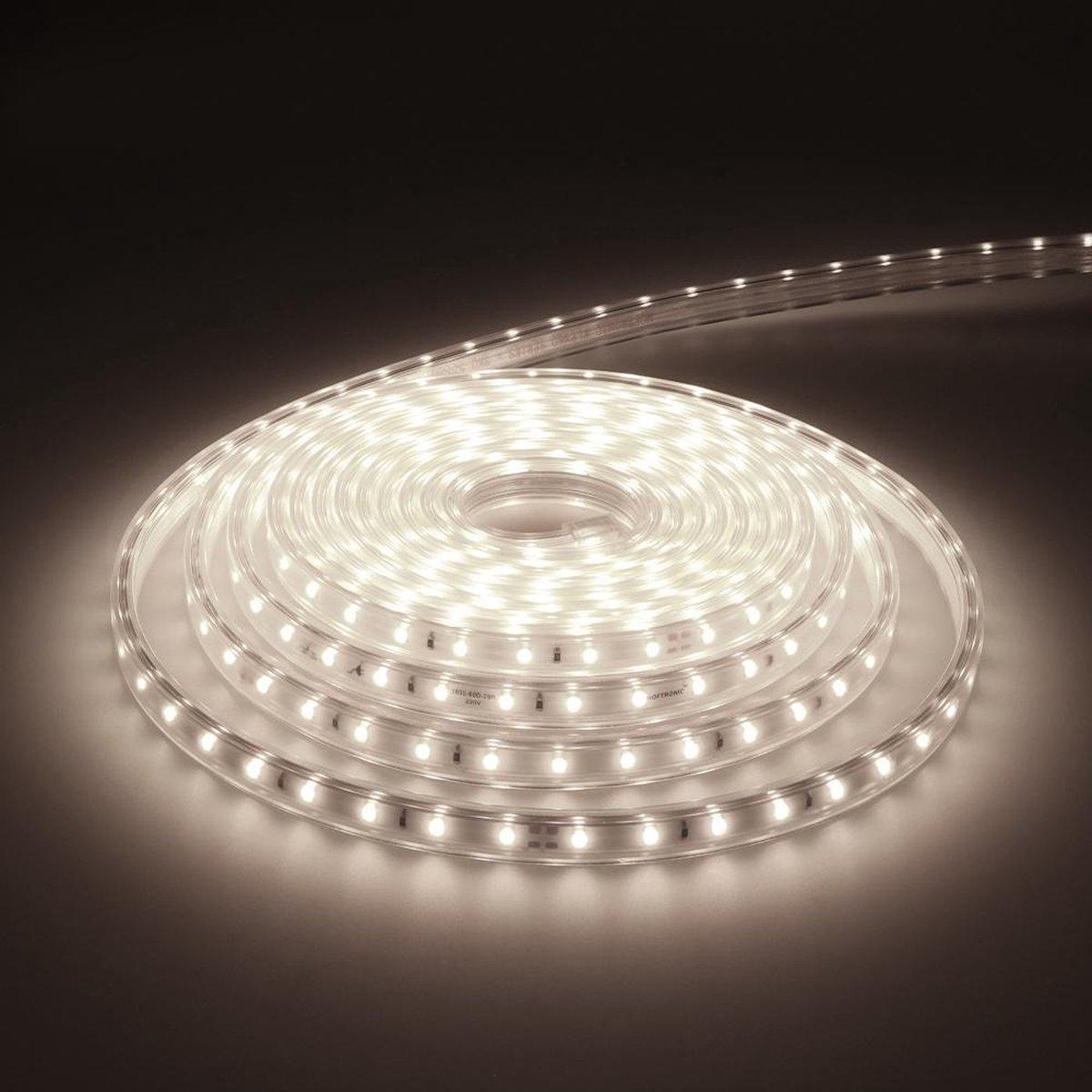 Dimbare LED Strip 5m 6000K 60 LEDs/m IP65 Plug & Play - Flex60 Series