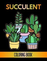 Succulent Coloring Book
