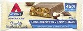 Atkins Advantage Chocolade Hazelnoot Crunch Reep - 60 gr - Snack