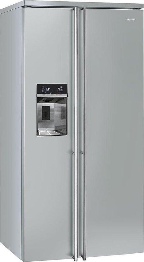 Koelkast: Smeg FA63X Vrijstaand 544l A+ Roestvrijstaal amerikaanse koelkast, van het merk Smeg