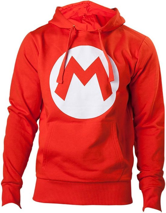 NINTENDO - Sweatshirt Red Mario Logo (M)