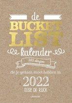Omslag Bucketlist  -   De Bucketlist scheurkalender 2022