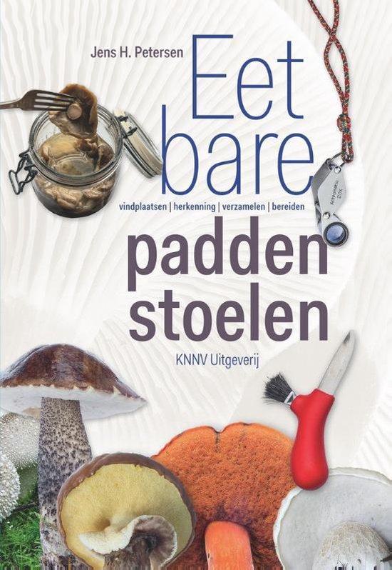 Boek cover Eetbare Paddenstoelen van Jens H. Petersen (Paperback)