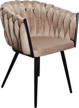 Pole to Pole – Wave chair – Velvet – Zandwit
