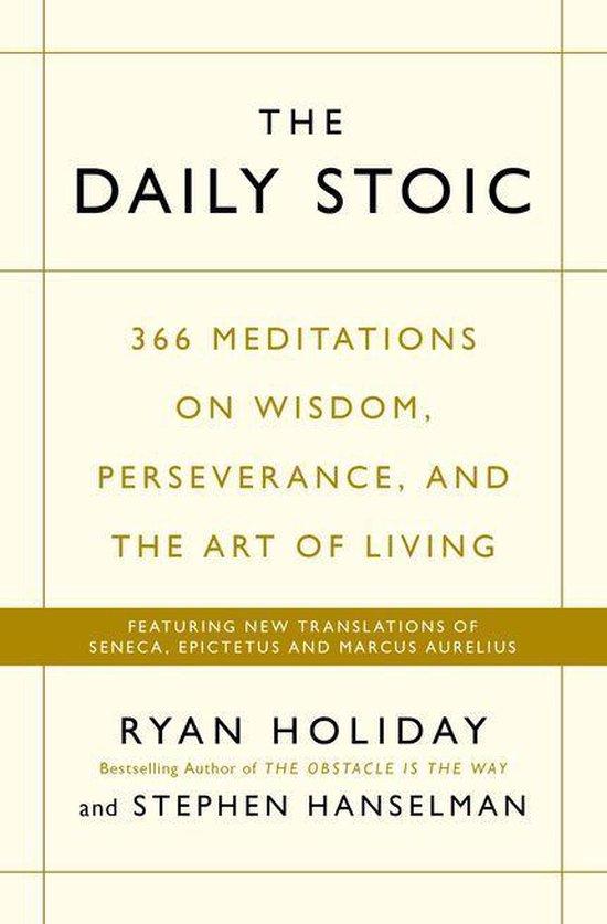 Boek cover The Daily Stoic van Ryan Holiday (Onbekend)