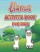 Llama Activity Book For Kids