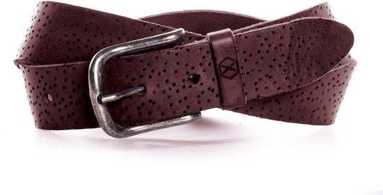Leren Spot riem - Zwart, Bruin, Cognac & 4 andere kleuren